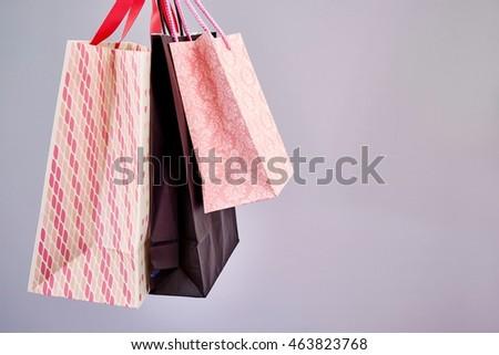 A studio photo of a shopping bag #463823768
