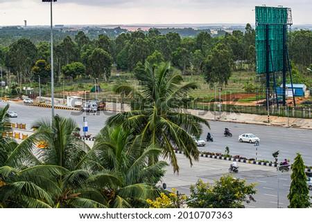 A superhighway in Bangluru, India Stock photo ©