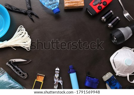 A survival kit is useful to have in the event of an emergency such as floods,fires,earthquakes,hurricanes and other natural disasters.These items can be placed in a bag prepared and ready to go