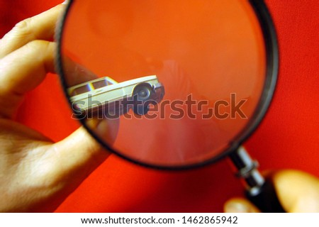 a symbol for vehicle inspection