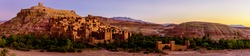Aït Benhaddou is an fortified village along the former caravan route between the Sahara and Marrakech in present-day Morocco. It has been a UNESCO World Heritage Site since 1987.