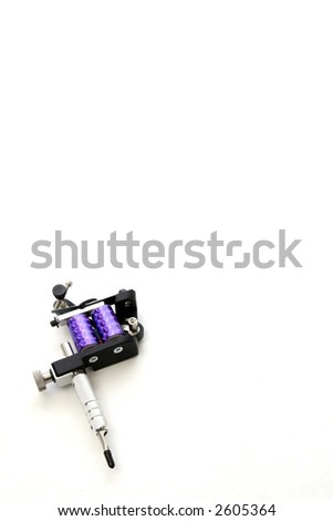 Tattoo machine frame parts by