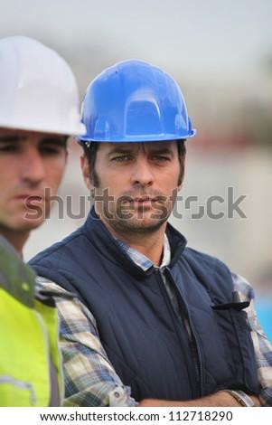 A team of builders