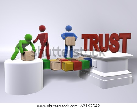 A team of diversity building trust