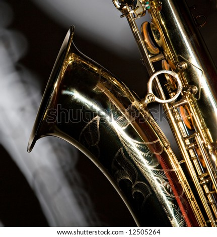 A Tenor Sax With A Shadow