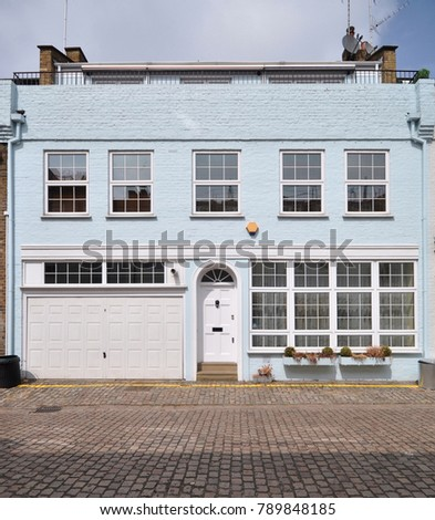 a terraced mews house converted ...