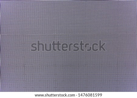 A texture to overlay to your still photo or footage to simulate an lcd pc screen shot or video. Macro detail of the dot grid. #1476081599