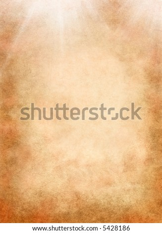 A textured background with light rays.