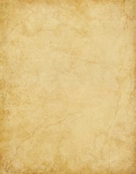 A textured background with subtle stains and cracks.