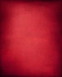 A textured red background with a subtle screen pattern.
