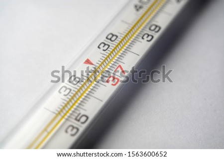 A thermometer is an instrument suitable for measuring temperature or temperature variations. #1563600652