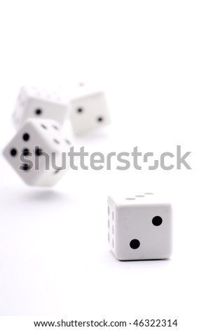 a throw of dice to try their luck