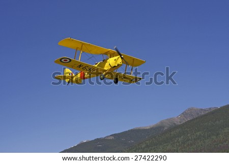 A 1938 Tiger Moth Airplane
