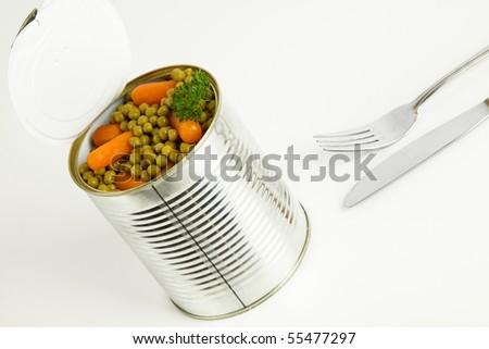 how to cook tin peas