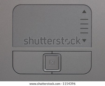 a touch-pad (laptop)