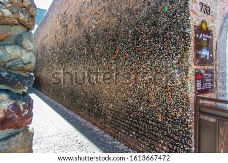 a tourist attraction in downtown San Luis Obispo, California Foto stock ©
