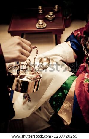 a traditional wedding #1239720265
