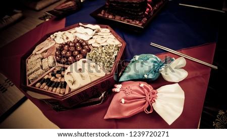 a traditional wedding #1239720271