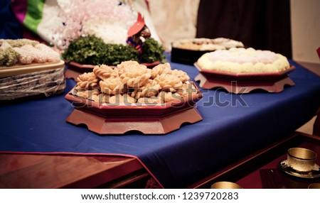 a traditional wedding #1239720283