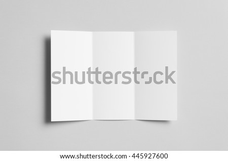 A4 Tri-Fold Brochure Mock-Up