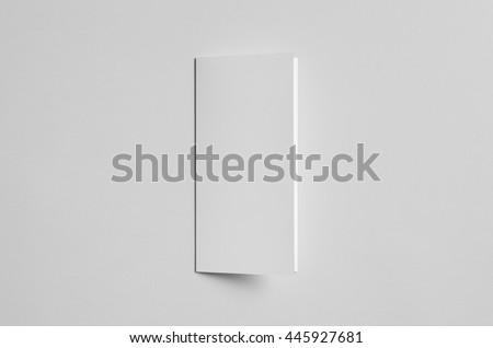 A4 Tri-Fold Brochure Mock-Up - Front #445927681