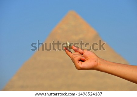 A trip to the pyramids of Egypt and the Sphinx and highlight the civilization and ancient Egypt