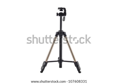 a tripod for photo and video cameras