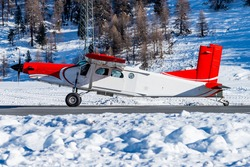 A turbo prop plane designed for very short runways and to reach very remote places. This type is flying special missions all over the world. Passenger transport, parachute plane, cargo transport etc.