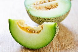 A type of Melon called Honeydew