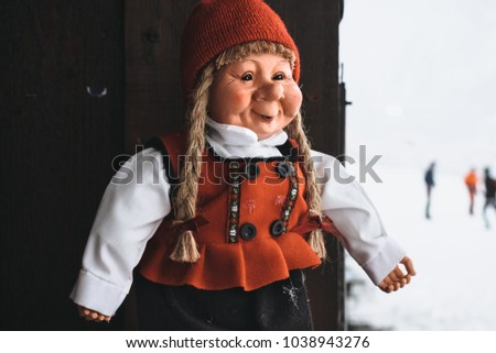 A typical Norwegian doll