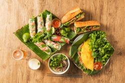 A typical Vietnamese cuisine powere