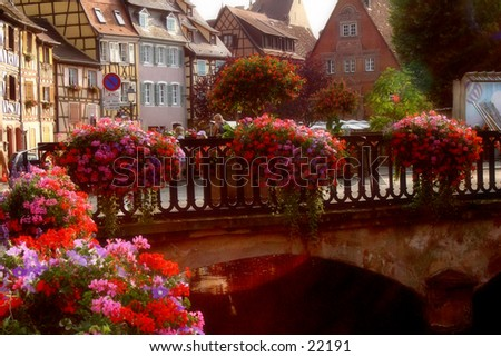 a typical view from Colmar