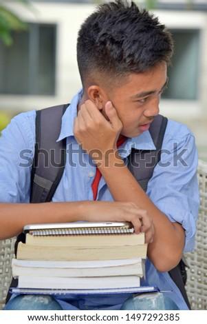 A University Minority Student Listening