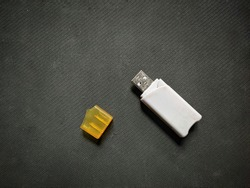 A USB flash drive is a data storage device that includes flash memory with an integrated USB interface. It is typically removable, rewritable and much smaller than an optical disc.