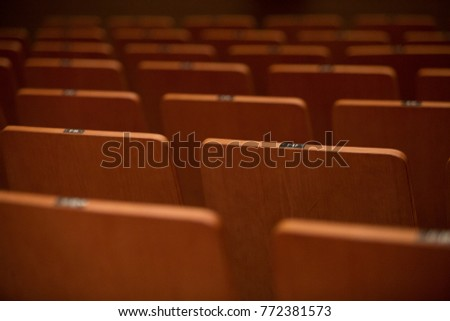 a vacant seat #772381573