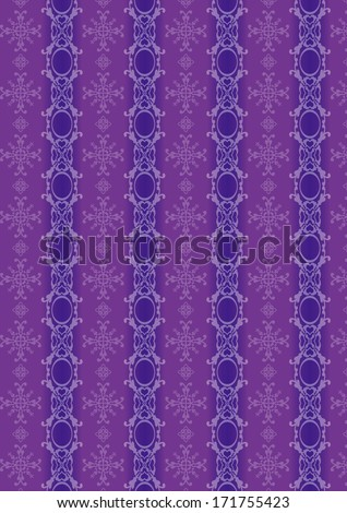 A variety of purple decorative pattern