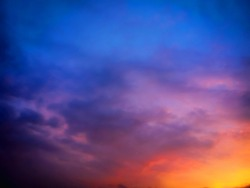 a very beautiful colorfull sky in the nature.
