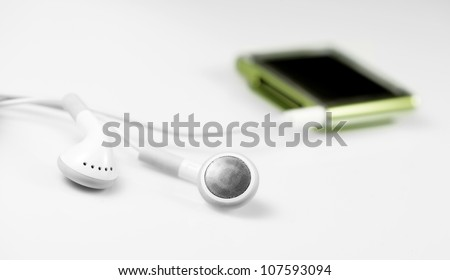 A very little and technological mp3 player