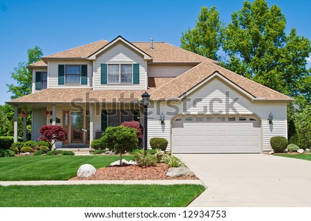 A very neat and tidy home in suburbs of Ohio #12934753