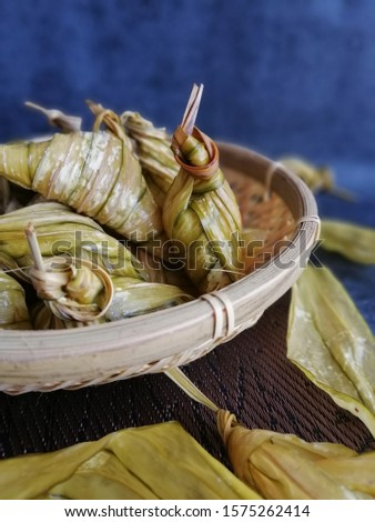 A vey delicious traditional malay food found in malaysian country.