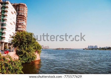 Shutterstock A view for the Nile in Cario, Egypt