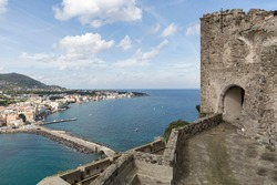 A view from Aragonese Castle over Ischia Island