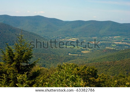 A view from Mount Greylock in Western Massachusetts, USA.