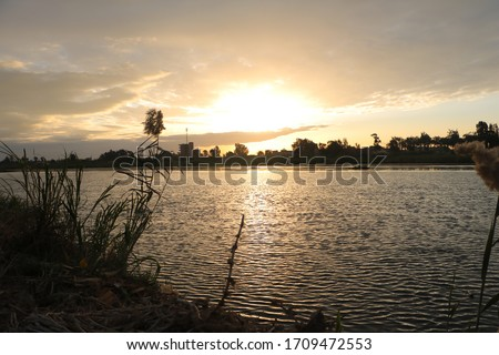 A view from nature clear sky and fresh air and calm water landscape in the most beautiful pictures of Sharm el-Sheikh in Egypt