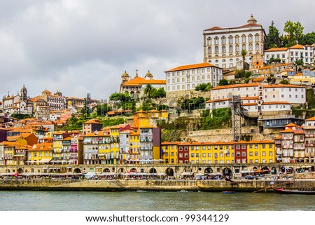A view of Ancient city Porto