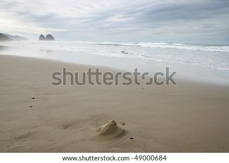 A view of Cannon Beach in Untied State.
