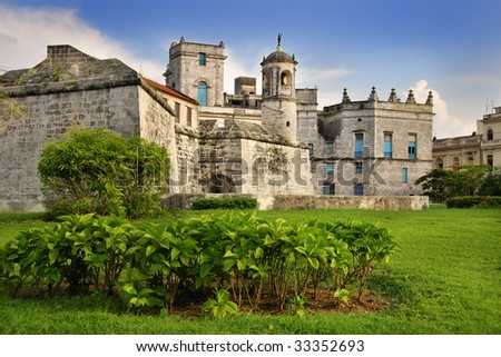 "A view of ""Castillo de la real Fuerza"" in Old Havana, Cuba"
