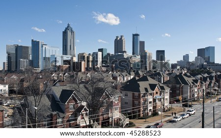 A view of downtown Atlanta Georgia