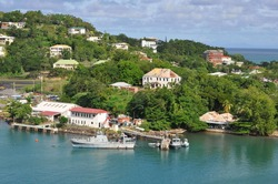 A View of St. Lucia