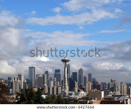 A view of the Seattle skyline